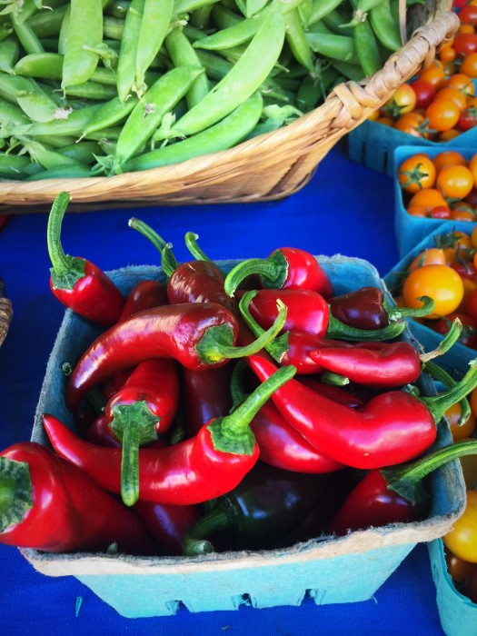 Serendipity Farm has the first of the peppers. Get them while their hot (pun intended)!