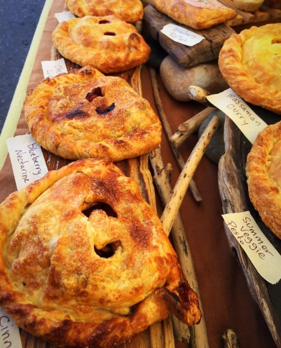 Berry Hand Pies by Crust Bakery. Yum!