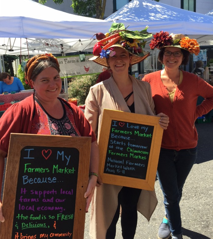 Tell us why you love your farmers market this week in celebration of National Farmers Market Week.
