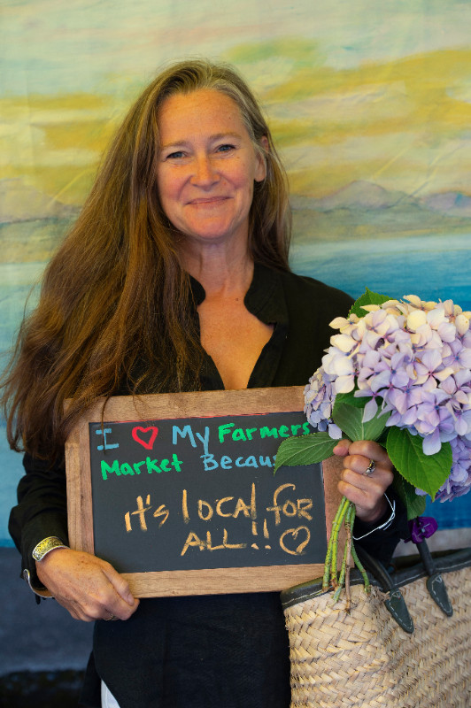 "Photo by David Conklin from the National Farmers Market Week series, ""I love my farmers market because."""