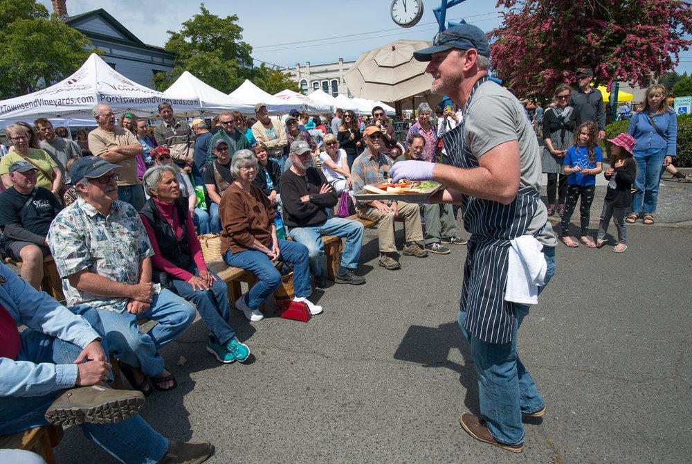 Arran Stark, Artisan Food Fest 2018. Photo by David Conklin.