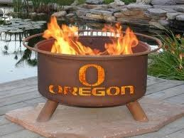 Oregon Ducks Fire Pit