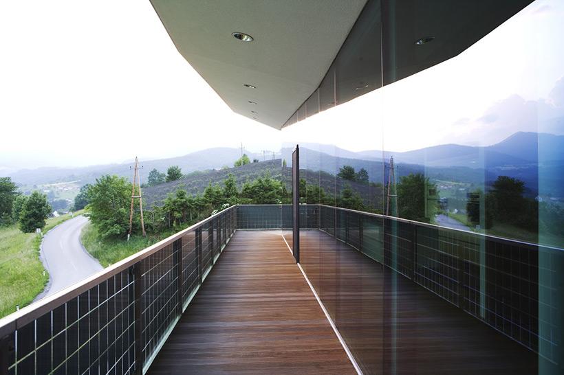 Co-Laminated Semi-Transparent Guardrail Panels