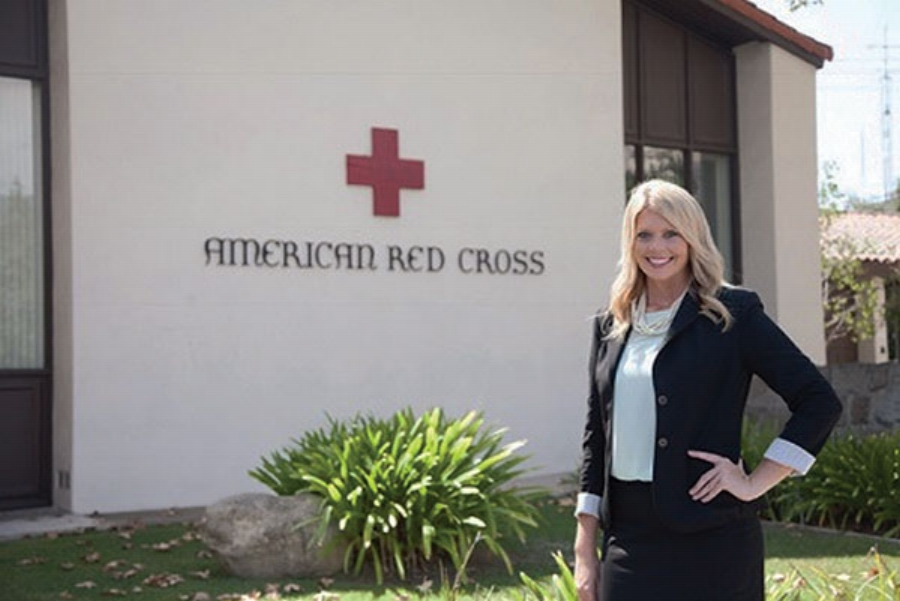 Kimberly Coley, Executive Director with the American Red Cross
