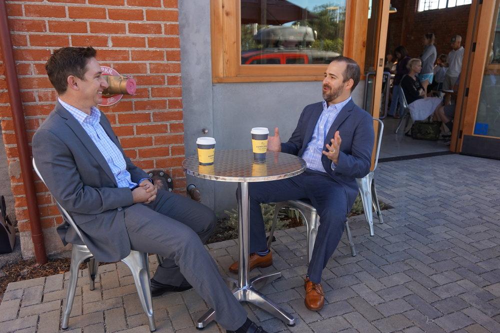 Interview at Handlebar Coffee, Santa Barbara
