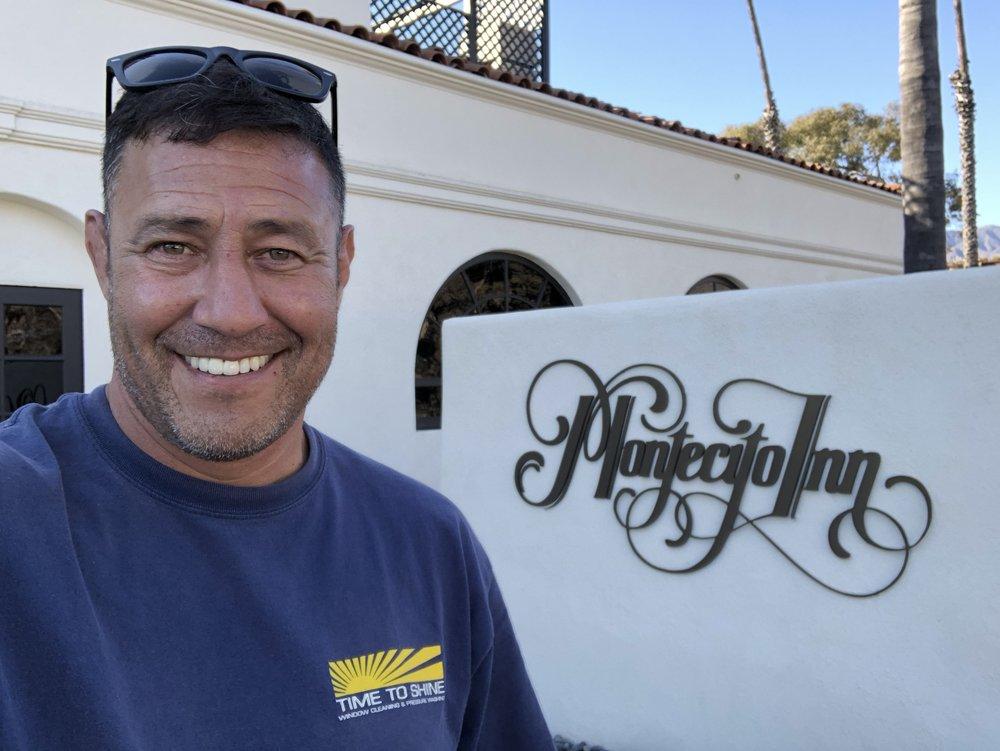 Tomas Castelo- Owner of Time to Shine Window Washing
