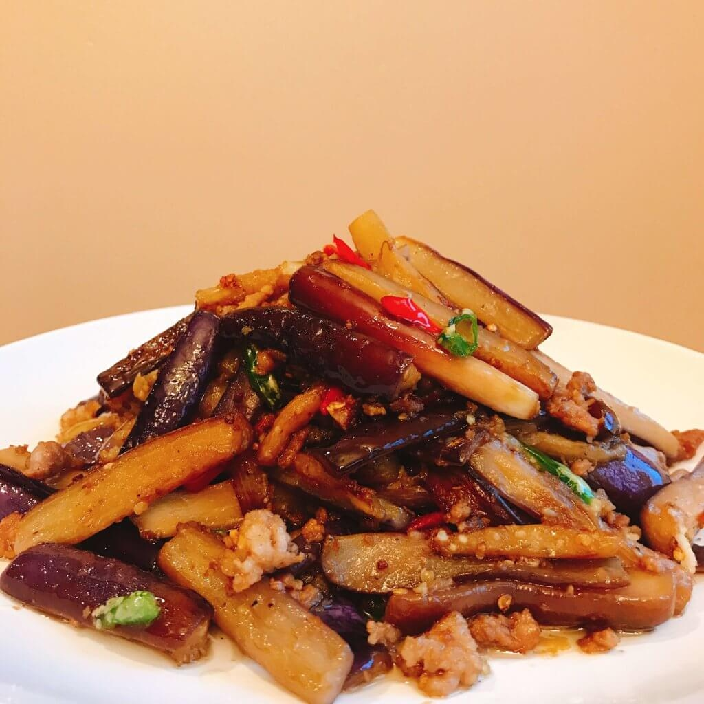 Chinese Eggplant Stew With Minced Pork The Farm Woodbury Ct