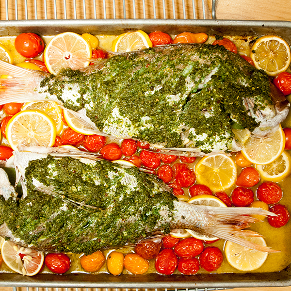 ROASTED RED SNAPPER