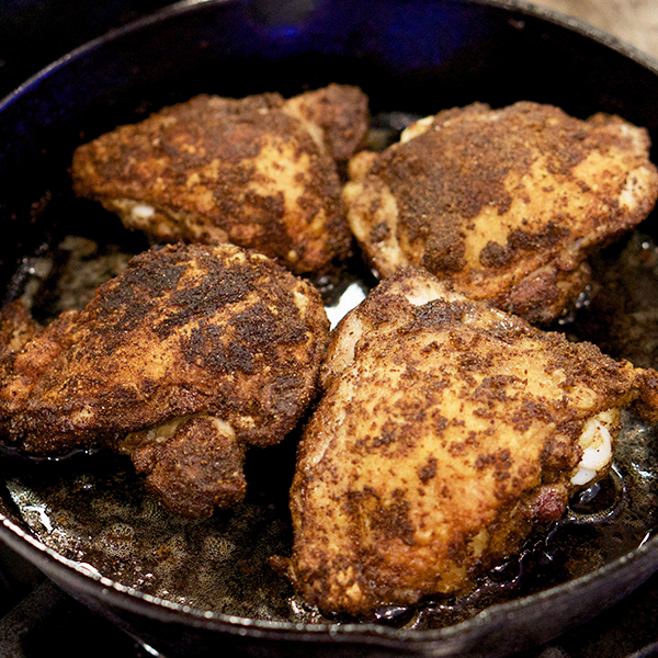 ROASTED CHICKEN W/ MIDDLE EASTERN SPICES