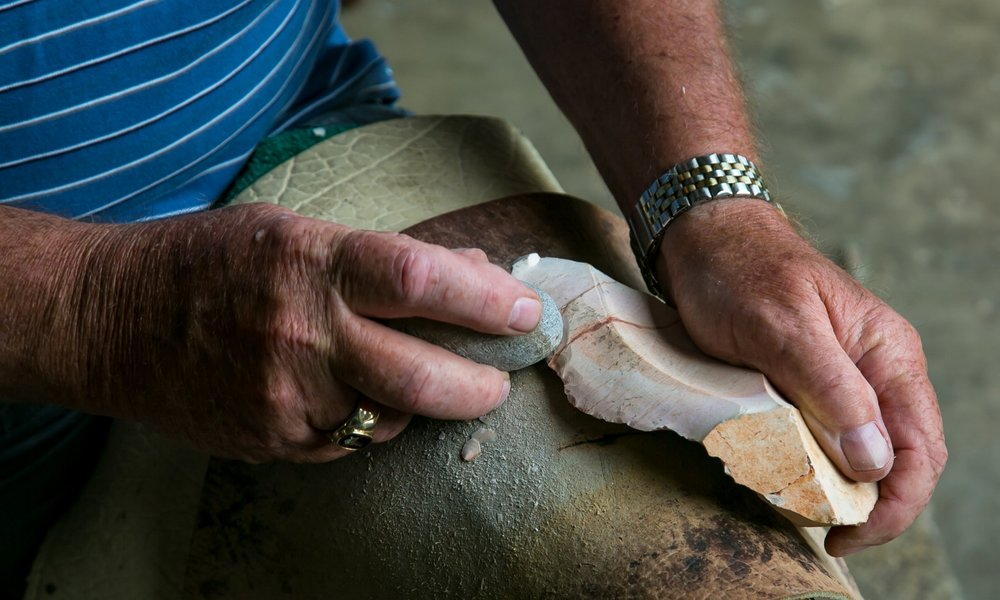 ART & HISTORY   Lost Art of Flintknapping   Read More