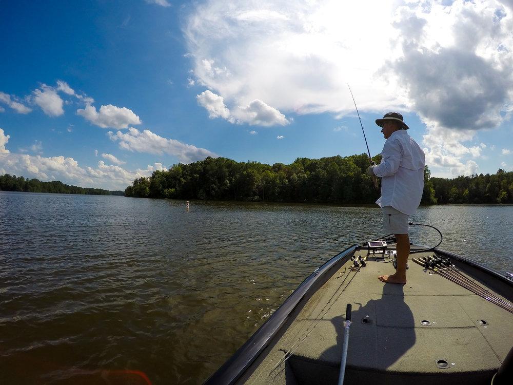 LAKE THOM-A-LEX   Fishing