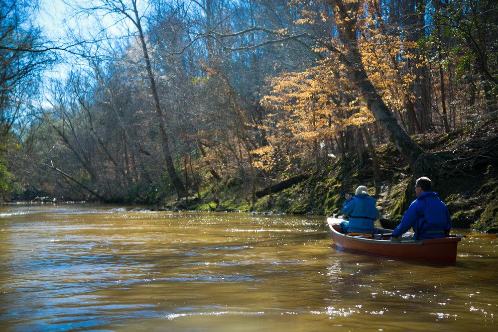 ABBOTT'S CREEK   Canoeing