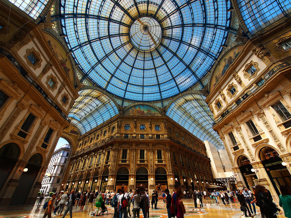 Photo source:  http://blog.nh-hotels.com/countries/the-best-shopping-in-milan/