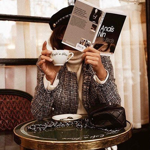 Currently enjoying high tea and a good book. #cmgph | Photo grabbed from Pinterest