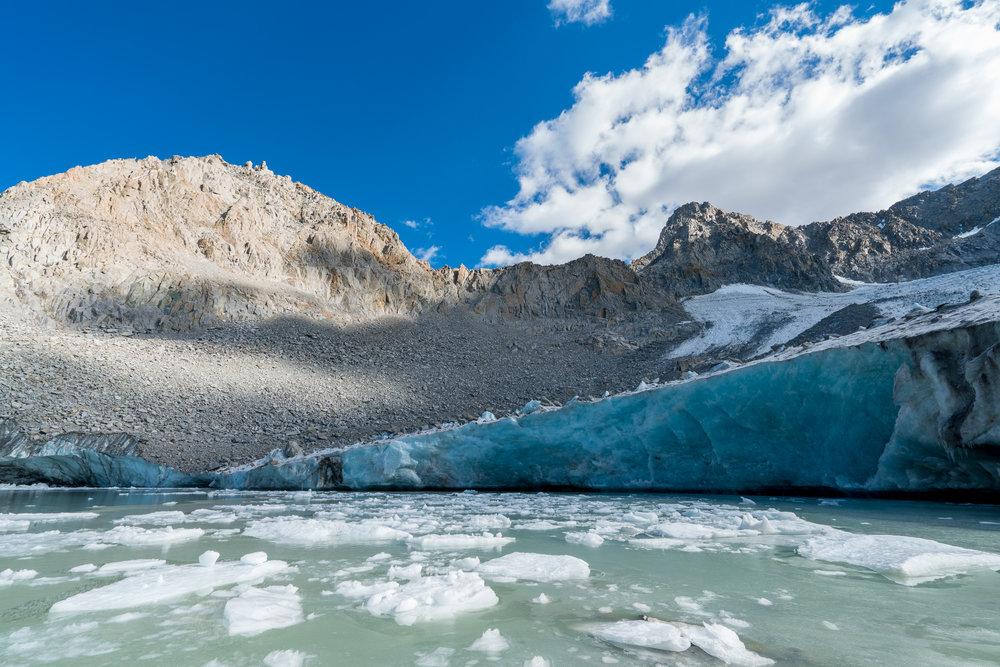 Palisade Glacier, California