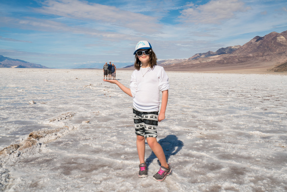 Badwater Basin, California