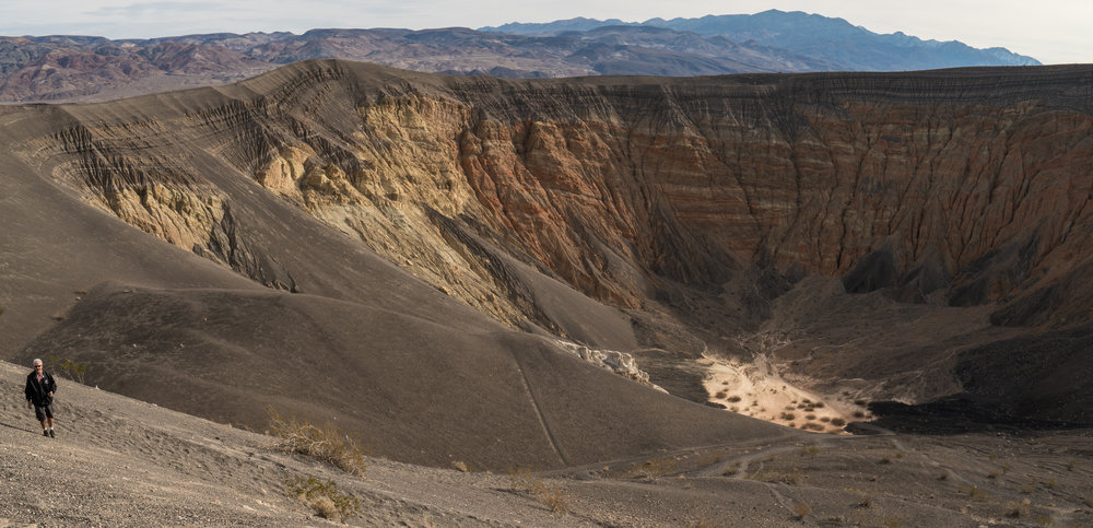 Ubehebe Crater, California