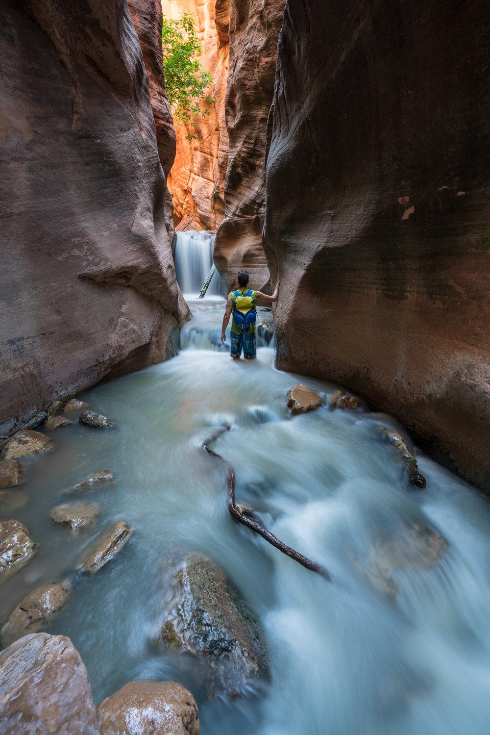 Kanarra Creek Falls, Utah