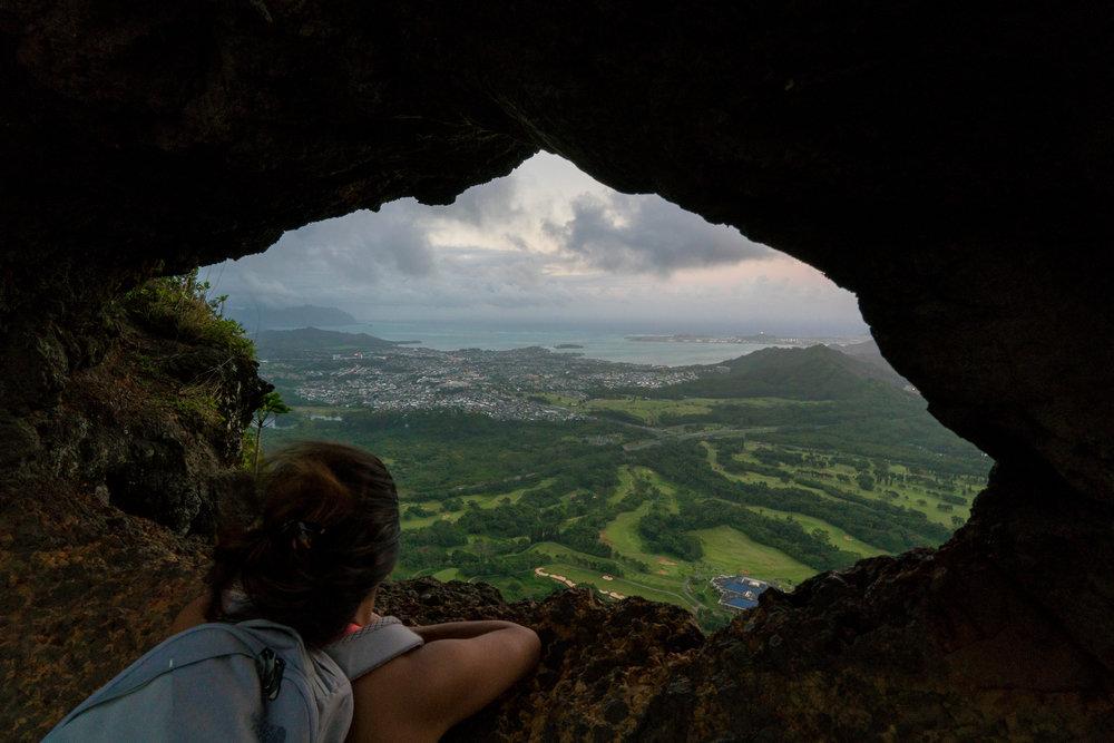 Pali Puka, Oahu