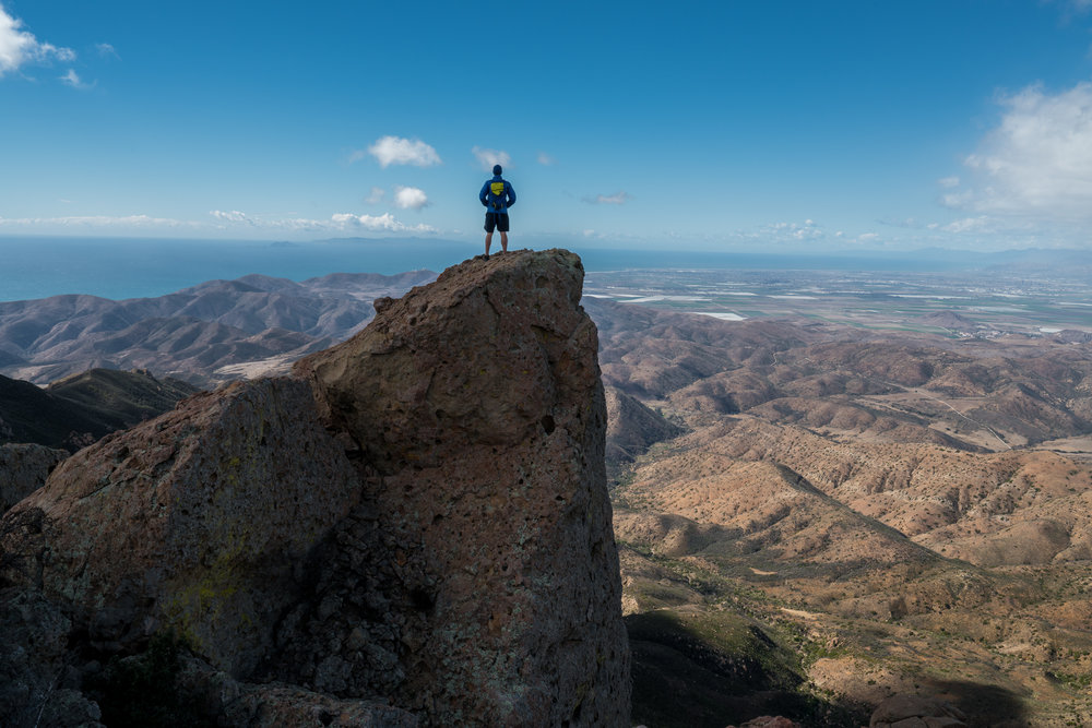 Tri-Peaks, California
