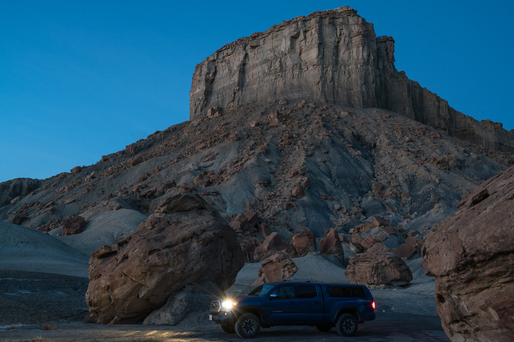 Alstrom Point, Utah