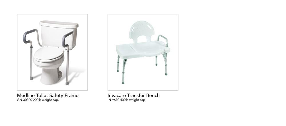 Shower Frame / Transfer Bench — Home Medical Express