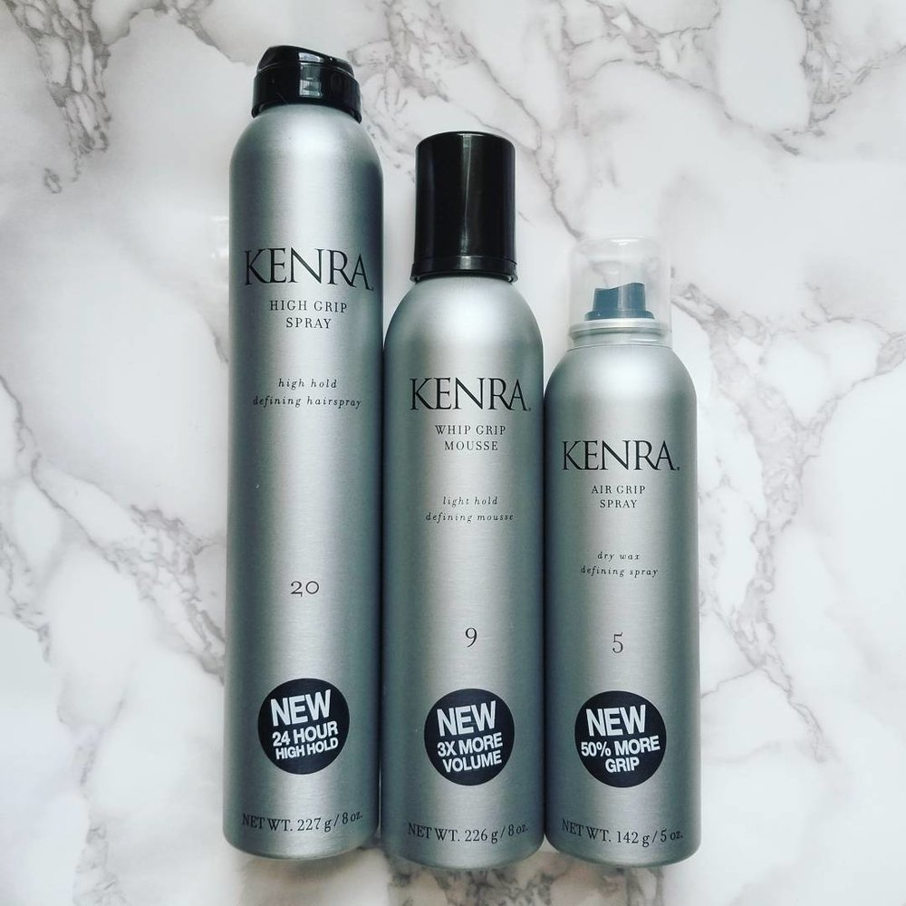 The Kenra Professional #GetaGrip collection *Swoon* Available at Ulta