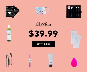 GUYS! You can finally get your  #FABFITFUN  box for  $39.99 with my code FALLINLOVE ! That's $10 off the original price! Click to get yours today!