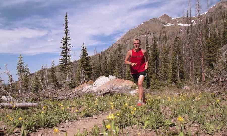 Avery Collins is one of the many runners who say smoking or ingesting marijuana reduced pain, fatigue and anxiety during long runs. Photograph: Courtesy of Avery Collins