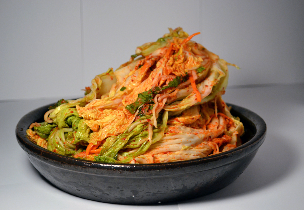 FERMENTED NAPA KIMCHI: The traditional Napa cabbage Kimchi. Enjoy what Kimchi taste like when it's made from scratch!