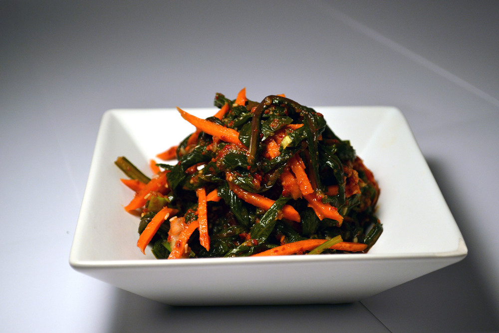 DANDELION KIMCHI: Did you know dandelions support liver health, nourish bones and joints, and even stimulate urinary function to promote cleansing? Who knew such a common plant could do so much? Now you can try it in Kimchi form!