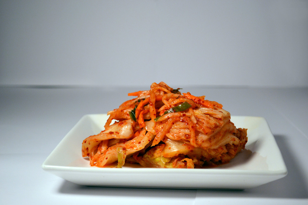 FRESH NAPA KIMCHI: For beginners that are new to fermented goods. Sometimes fermented food can pack a punch,so this is a great way to start. Less spicy and the fermented smell has yet to really give off that pungent smell.