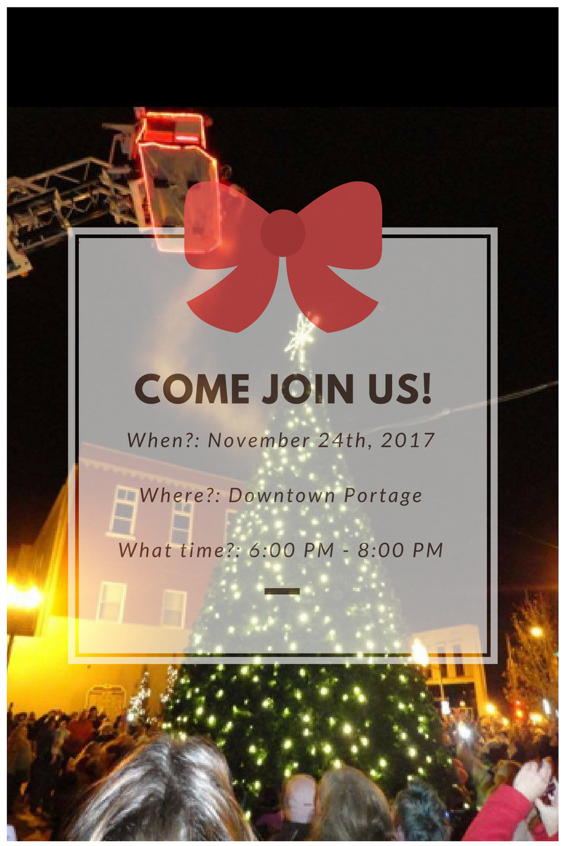 Happy Holidays, Portage Happy Holiday Parade, Event Planning