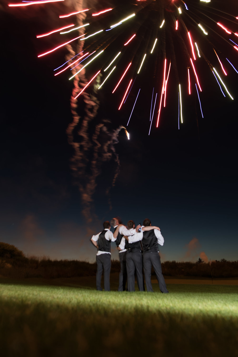 Groomsmen Goals - These guys took friendship goals to a whole new level. Photo: Grace and James Photography