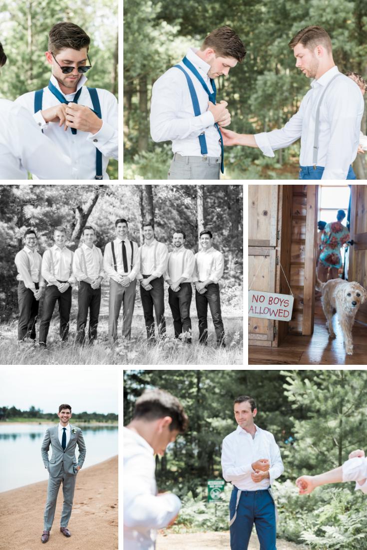 Wisconsin Dells lakehouse Wisconsin wedding planner