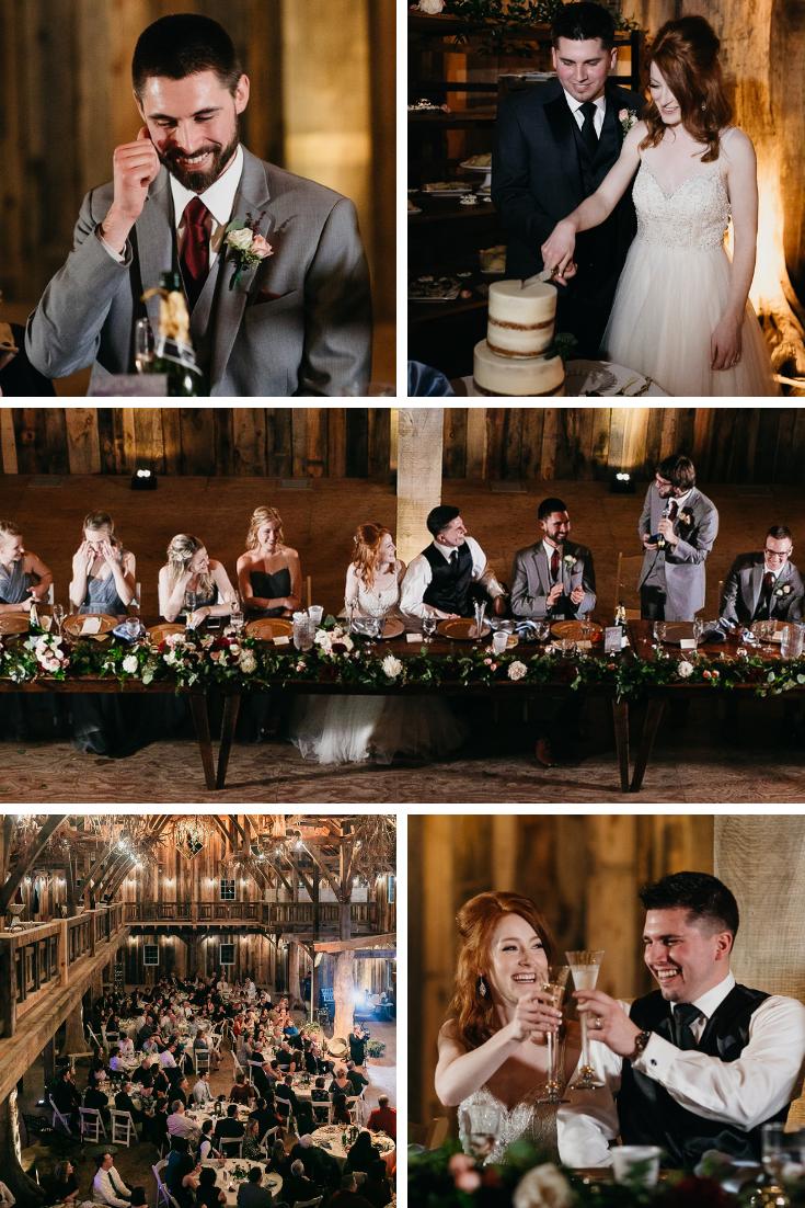 wedding reception wisconsin dells Abbotts lane