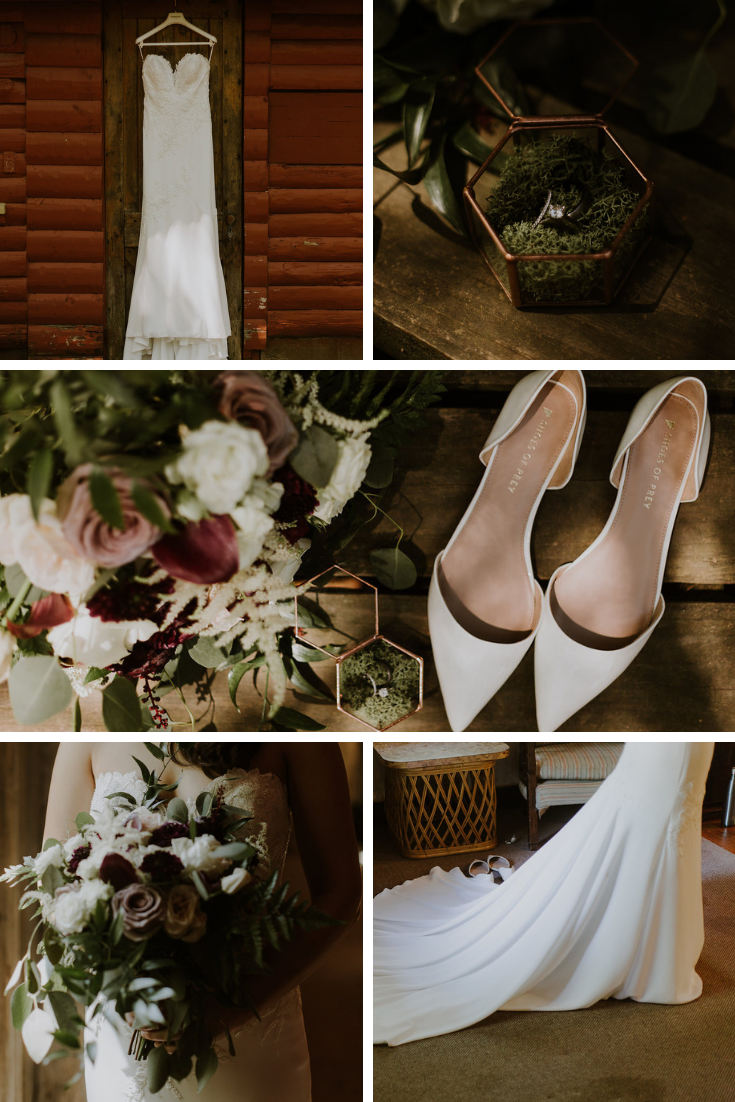 Neira Event Group Bridal Party Wedding Party Bridal Getting Ready Wedding Dress Wedding Flowers Wisconsin Wedding Rustic