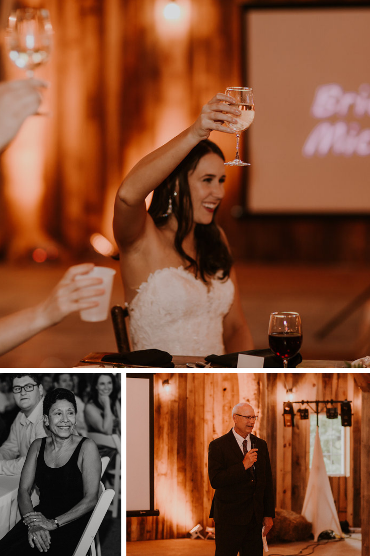 Neira Event Group Wisconsin Dells Wisconsin Wedding Reception Wedding Toasts Family Friends Love Marriage