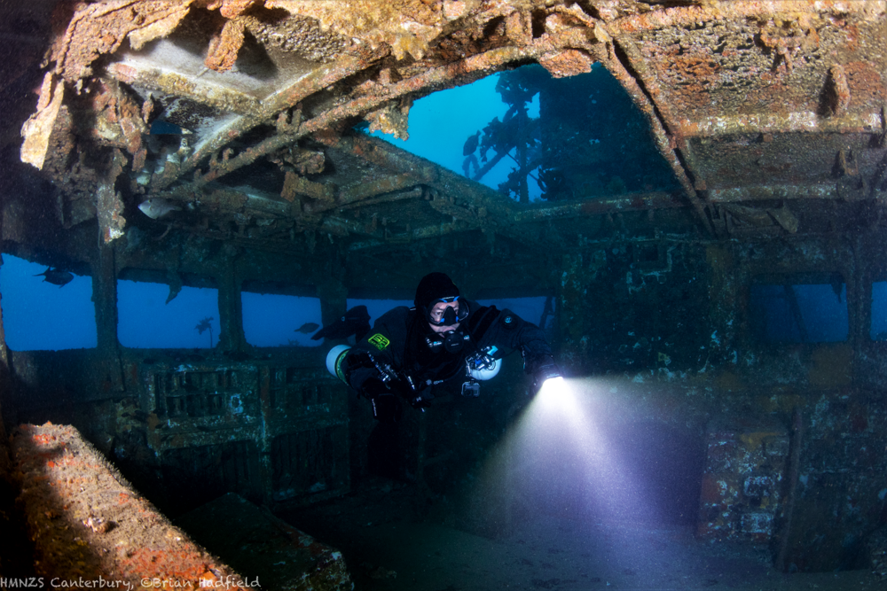 Sidemount Diving Canterbury Wreck Bridge