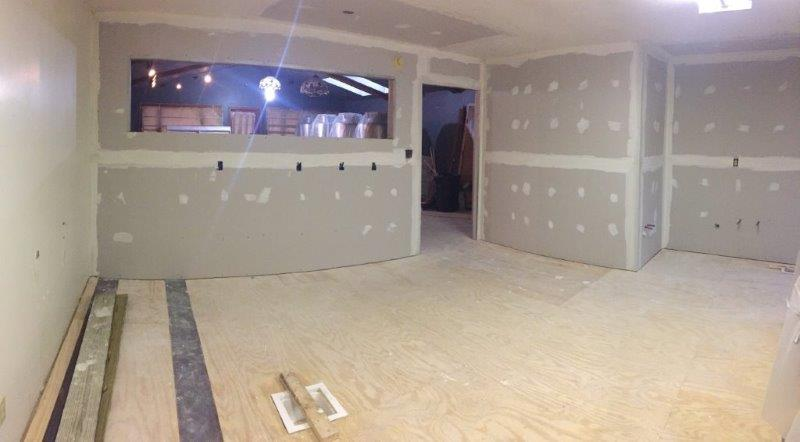 All that Drywall!