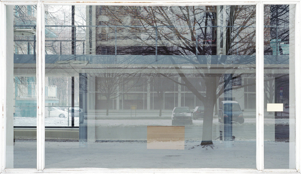 "Sabine Hornig.  Window III . 2001. Chromogenic color print, 4' 1"" x 7' 2"" (124.5 x 218.4 cm). The Museum of Modern Art, New York. Gift of Carol and Arthur Goldberg. © 2016 Sabine Hornig and VG Bild-Kunst, Bonn"