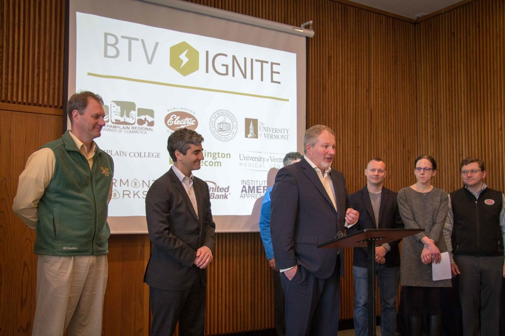 New BTV Ignite Executive Director Dennis Moynihan