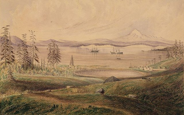 San Juan Island, by James Madison Alden