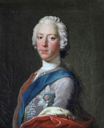 Portrait of Charles Edward Stuart by Allan Ramsay, 1745.