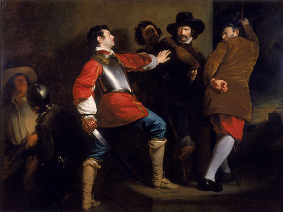 Discovery of the Gunpowder Plot by Henry Perronet Briggs, 1823