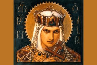 Olga of Kiev, by Bruni Nikolai Alexandrovich