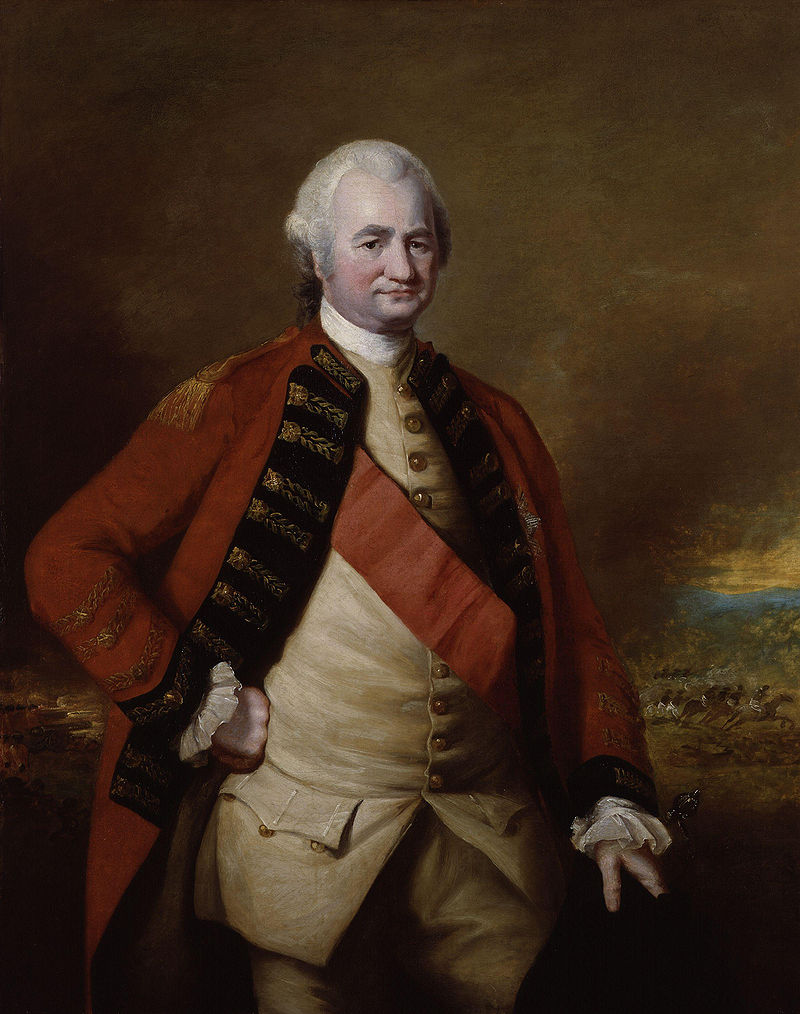 Robert Clive, by Nathaniel Dance-Holland