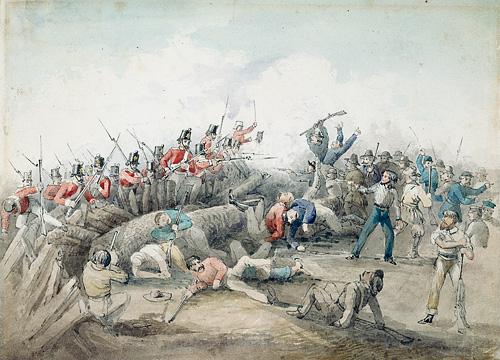 Battle of the Eureka Stockade, by J. B. Henderson