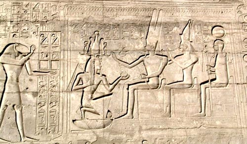 Hieroglyph depicting the Sed festival.
