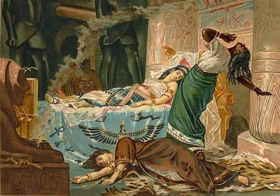 Death of Cleopatra, by Juan Luna